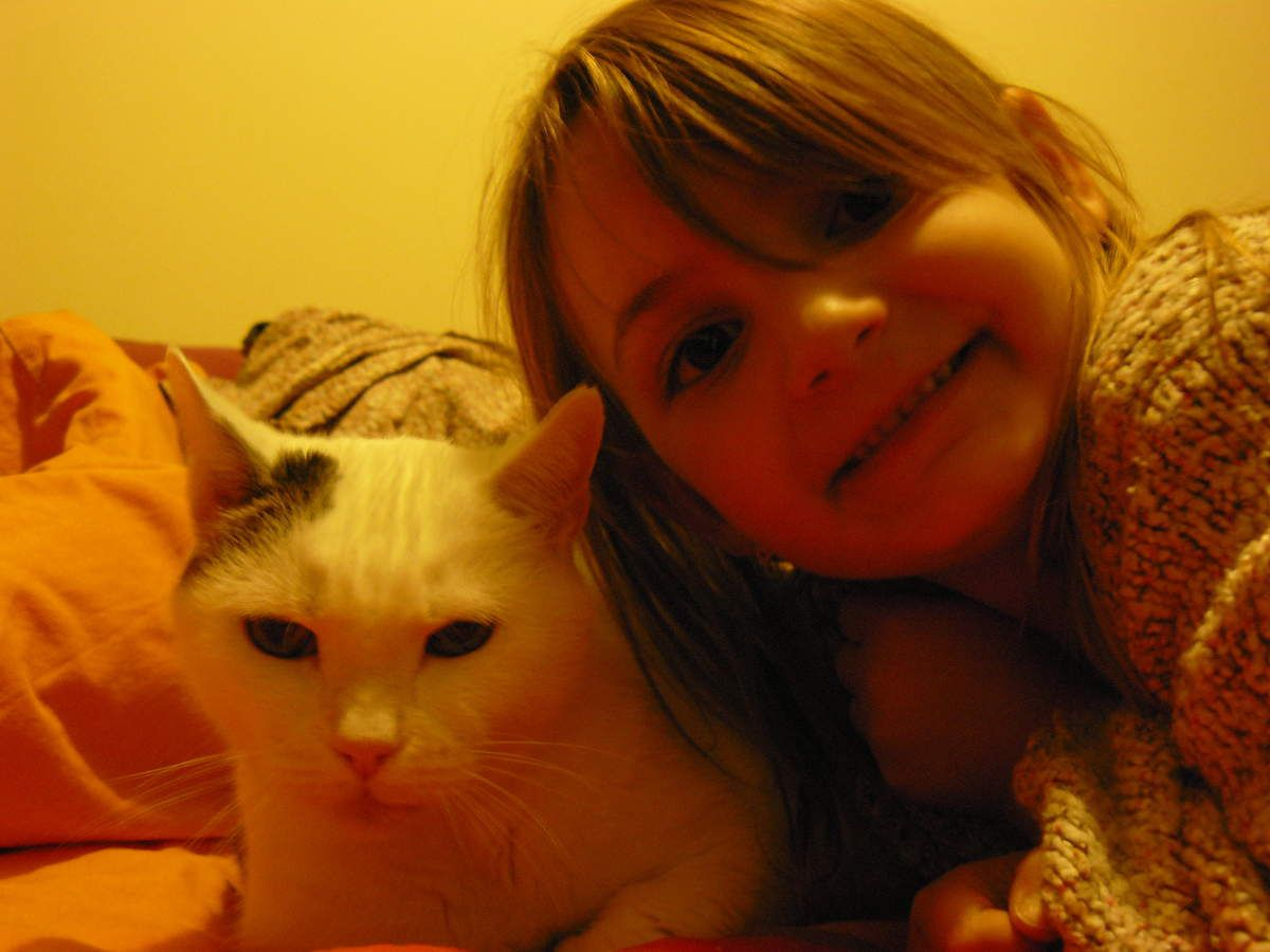 Ma vieille chatte