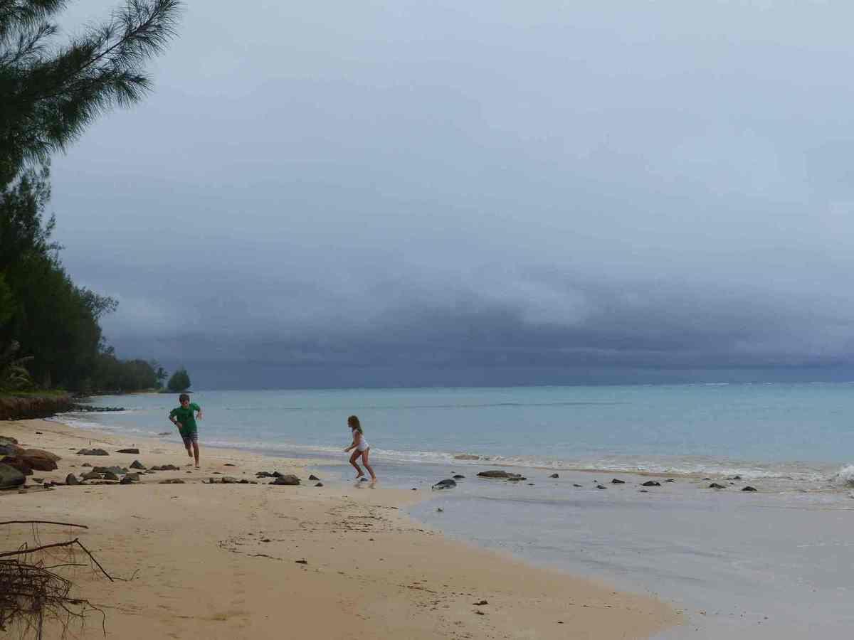 Les plages de Tubuai