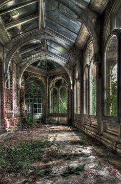 Histoire d'un jardin d'hiver abandonné - 1