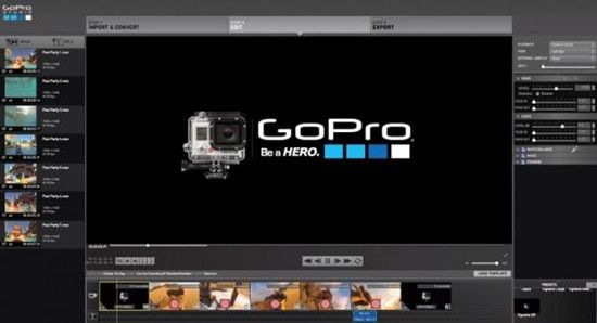 Alternative to GoPro Studio to Work with GoPro Hero Footage