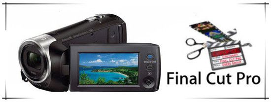 Work Sony HDR-PJ440 AVCHD Videos with FCP X