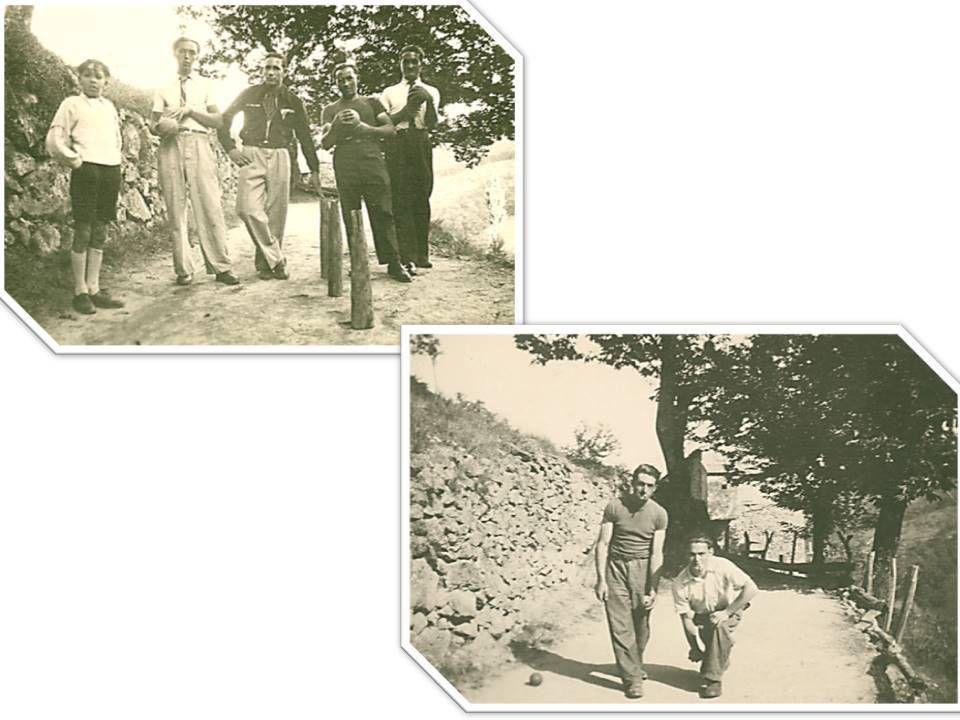 l'ancien café et son jeu de quille de la Haute-Vallette (2ème photo vers fin des années 1930)