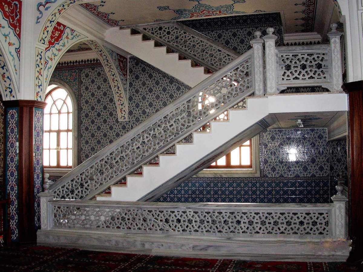 Escalier de marbre