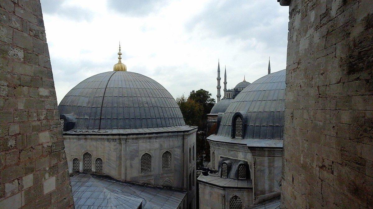 Musée Basilique Sainte Sophie de Istanbul