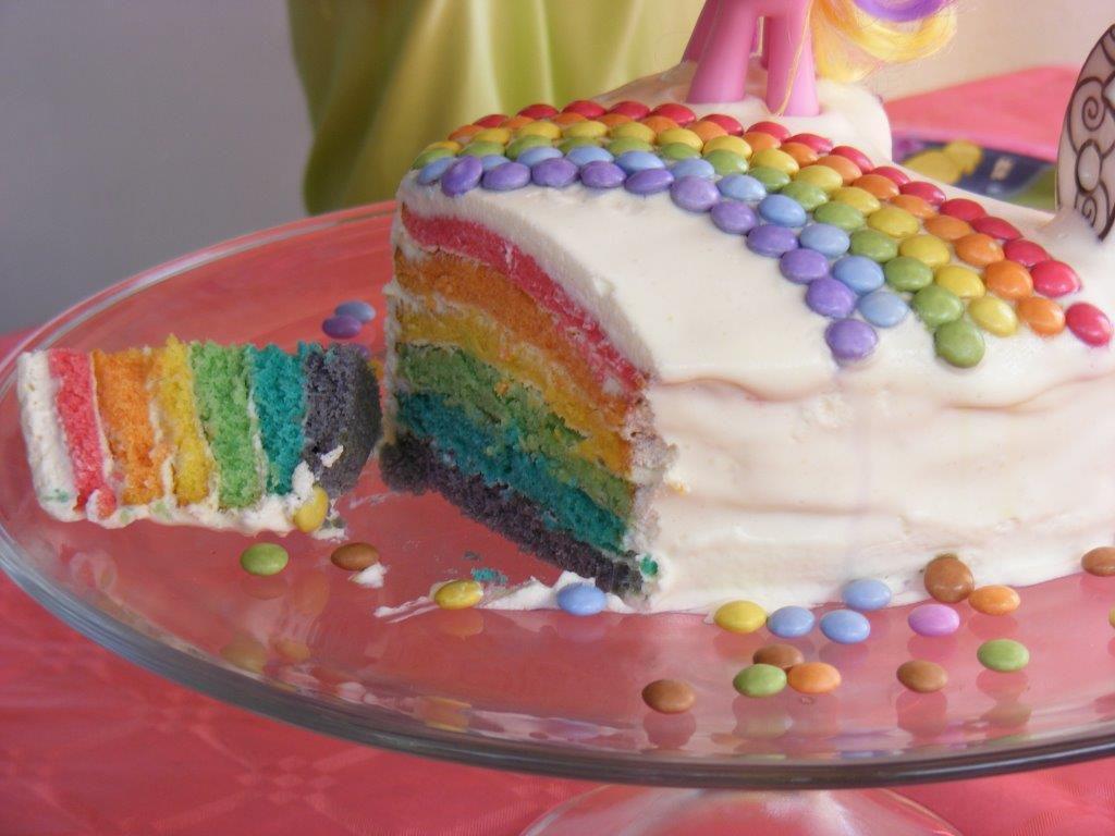 rainbow cake my little pony c 39 est de la tarte. Black Bedroom Furniture Sets. Home Design Ideas
