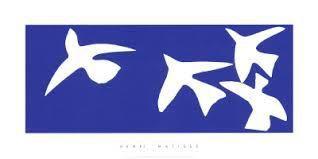 Van gogh, Yves klein, Henri Matisse et bien d'autres encore ont fait du bleu leur couleur de prédilection  !