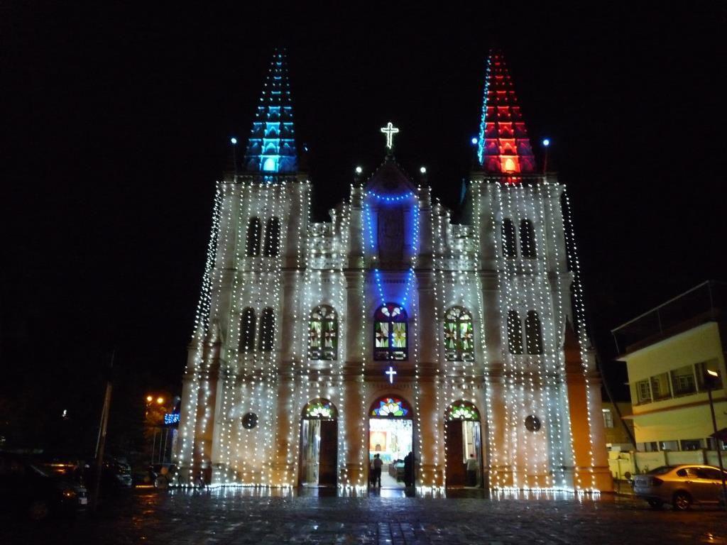 Kochi, Basilique Santa Cruz (1505)