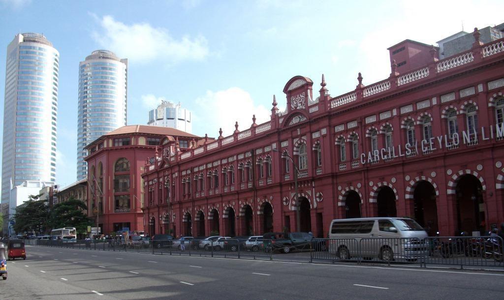 Colombo quartier du Fort et Colombo 1 (Pettah)