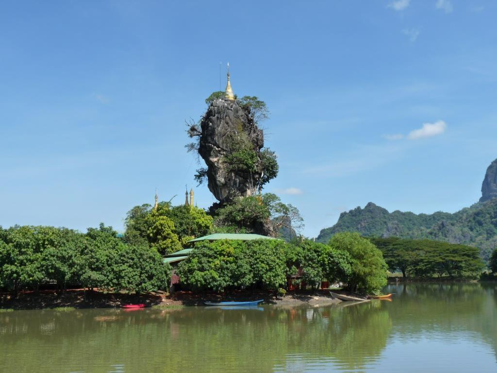 Hpa An, grottes et temples alentour