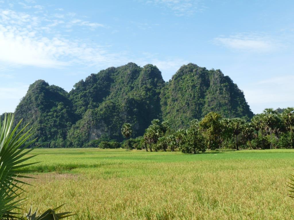 Arrivée au Myanmar / Hpa An