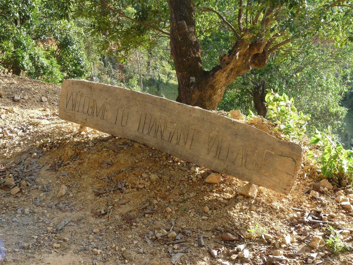 1er jour de treck depuis Hsipaw jusqu'à Pancam village et Thansant Village