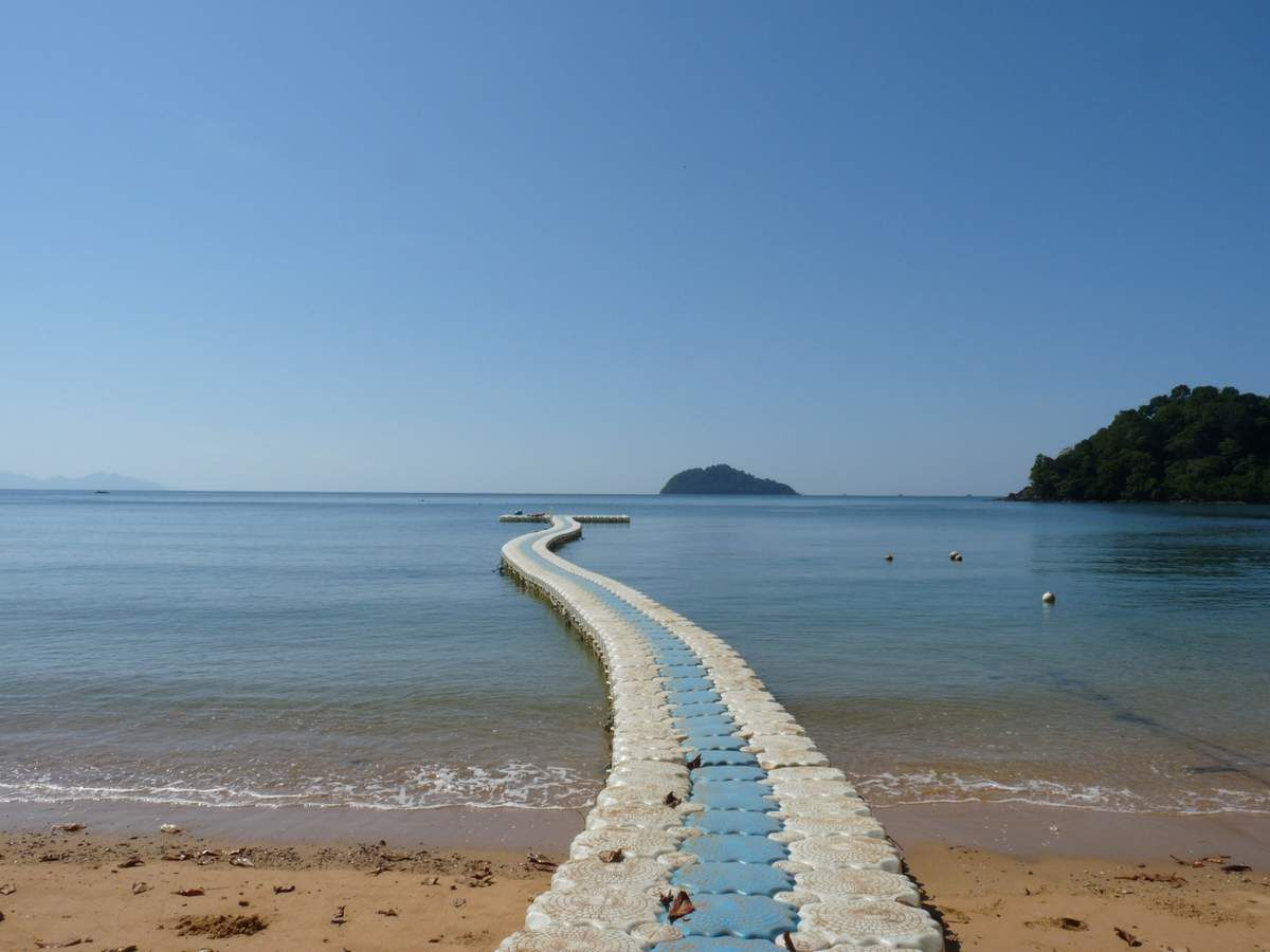 Koh Bulon Leh : Mango Bay et Panka Noi Bay (avec des motos amphibies ;-)