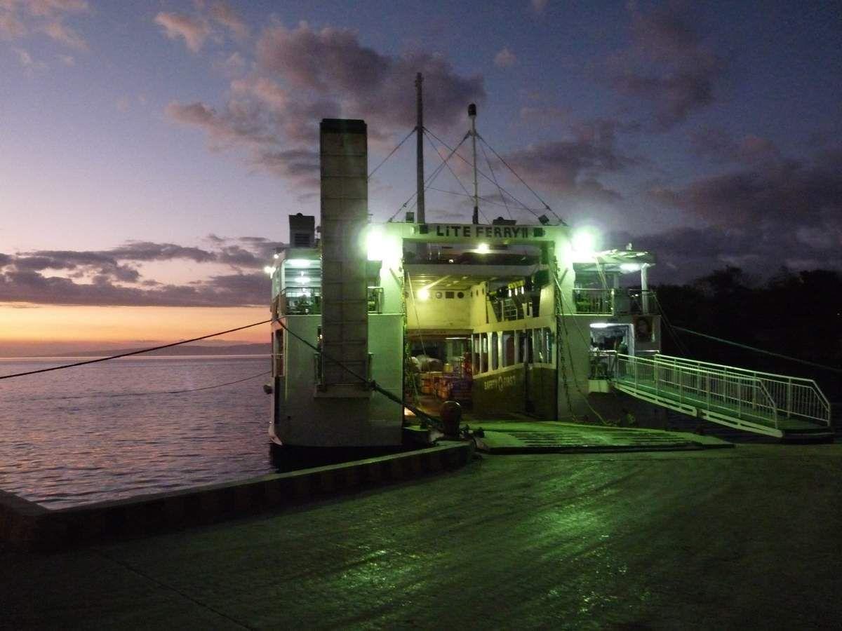 En route pour Larena ; Ferry pour Bohol