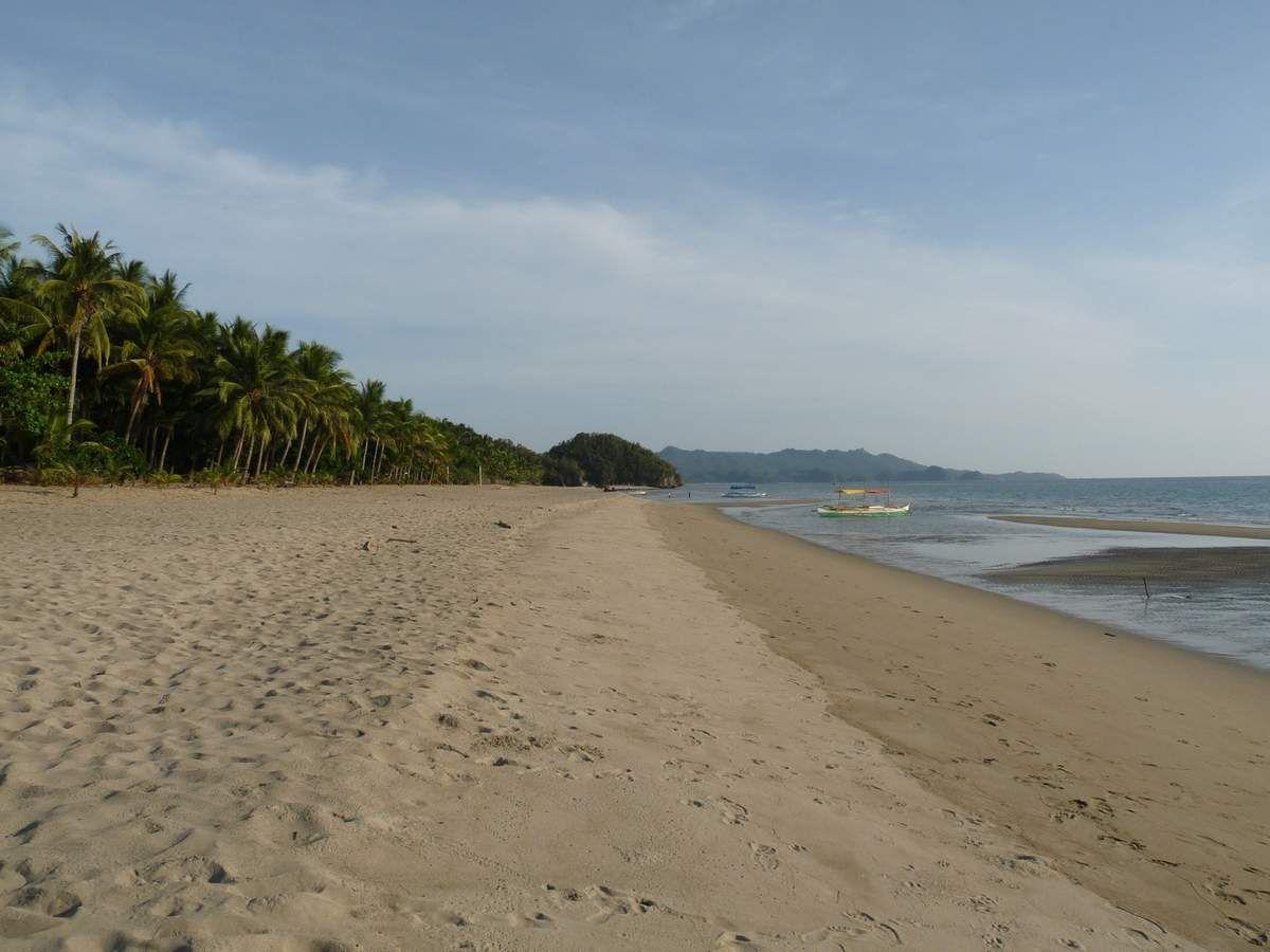 Île de Negros : Sugar beach