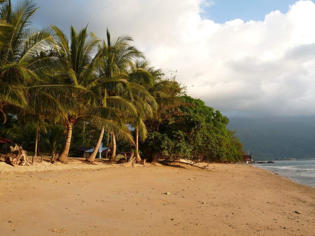Pulau Tioman, plage d'Air Batang (ABC)