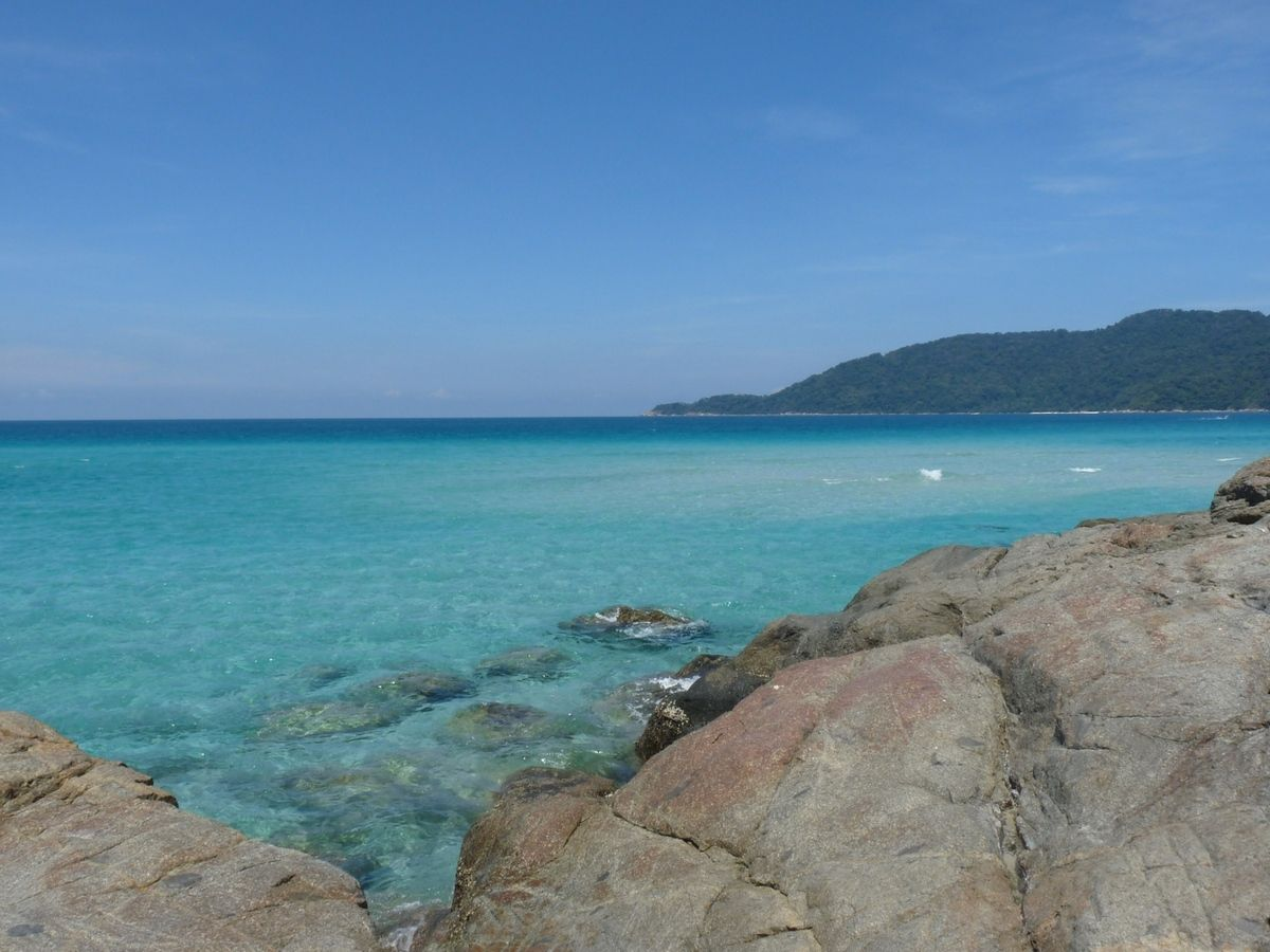 Pulau Perhentian kecil : du côté de Long beach