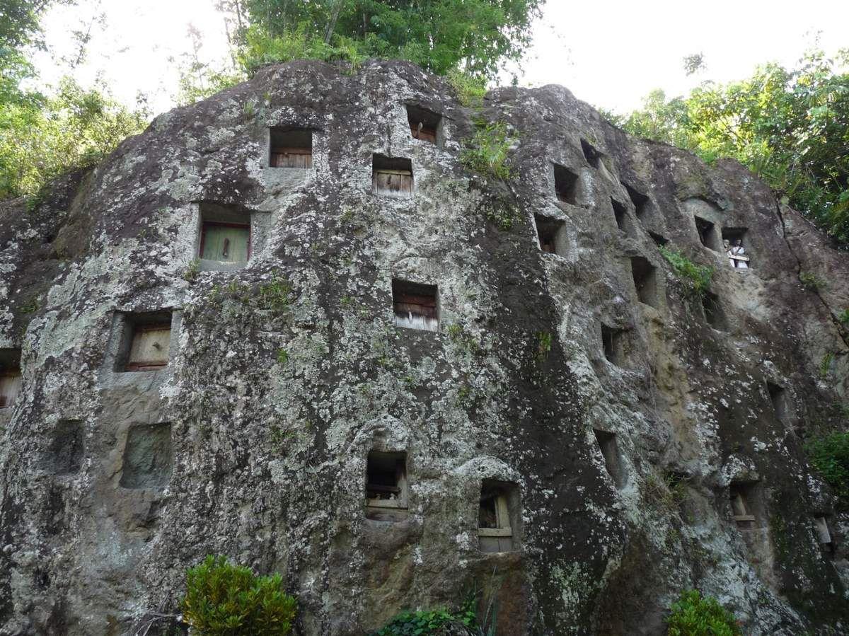 Lemo, le site le plus connu du pays Toraja