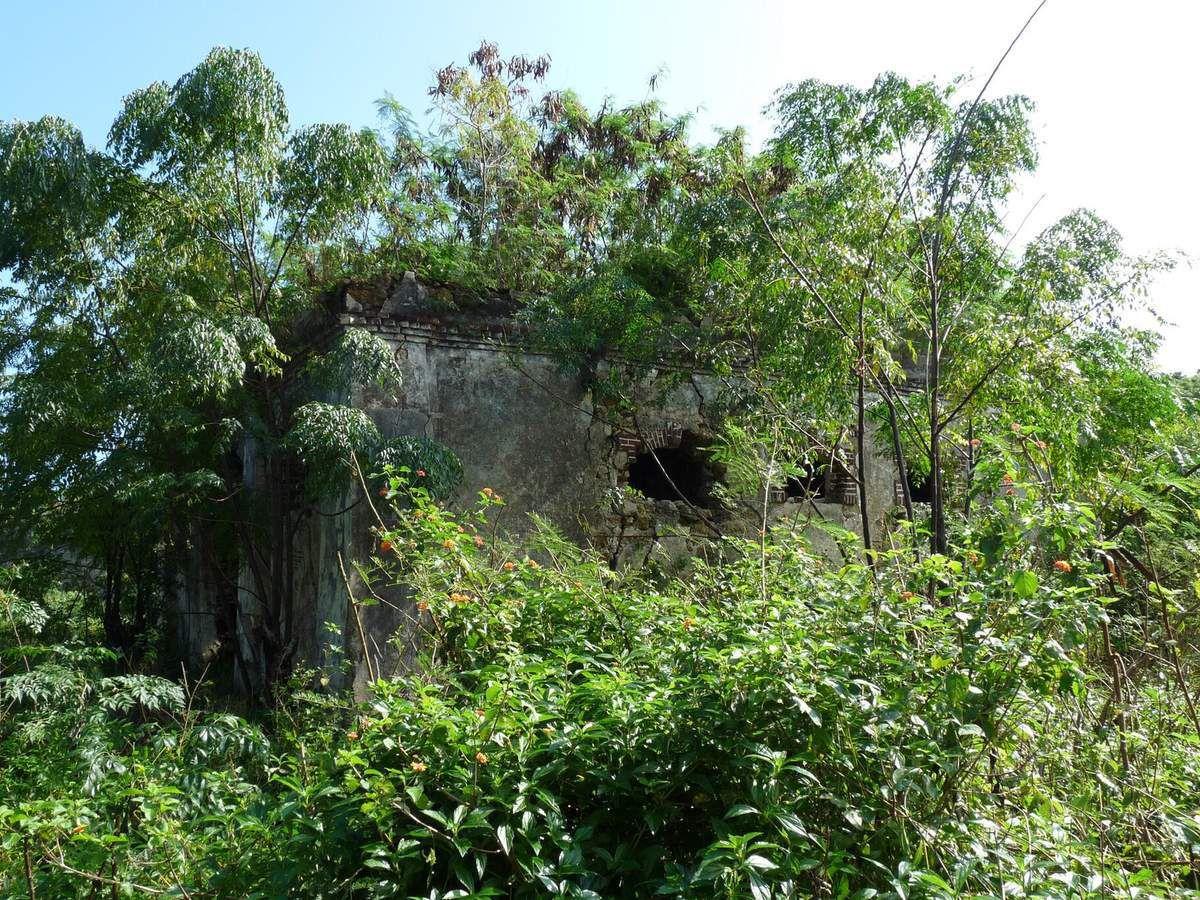 Île des Pins, vestiges du bagne
