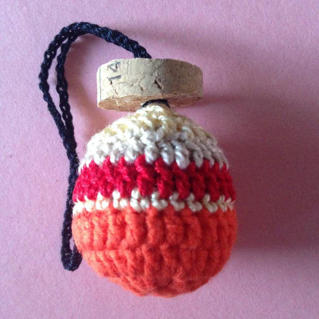 paille/beige/rouge/paille/orange (5 cm) - Réf  BDP-ORA-002