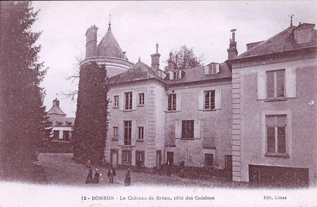 Bréau, le château au bois dormant