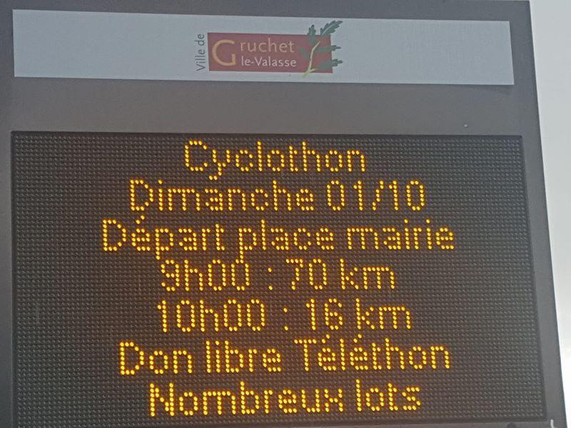 CYCLOTHON de Gruchet