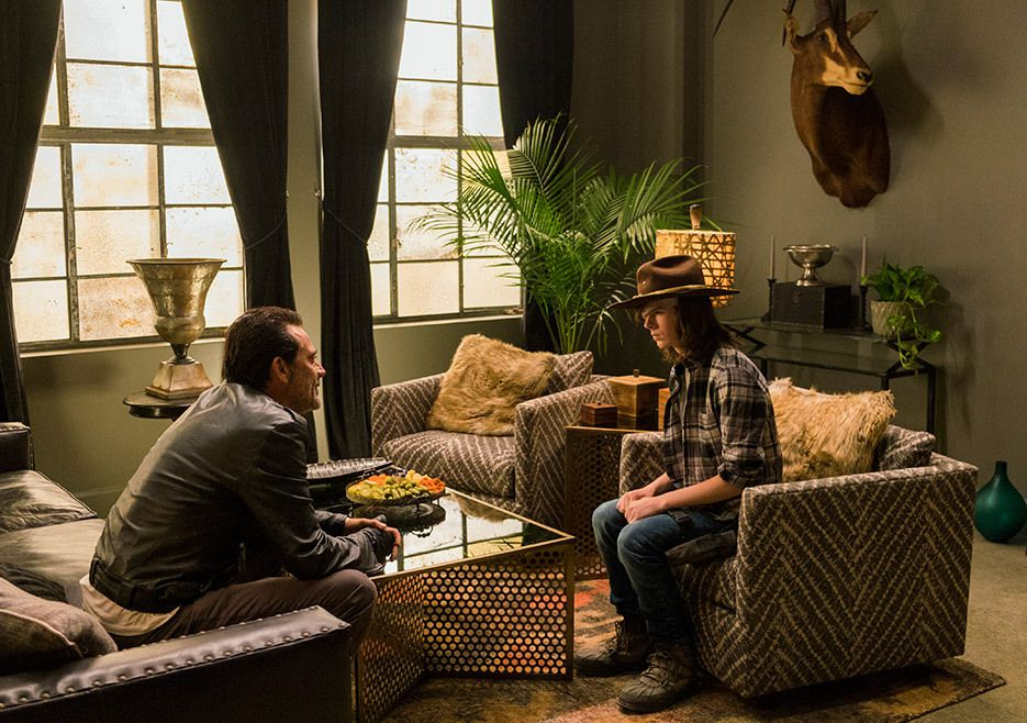 The Walking Dead épisode 7 : Carl et Negan au centre de l'intrigue