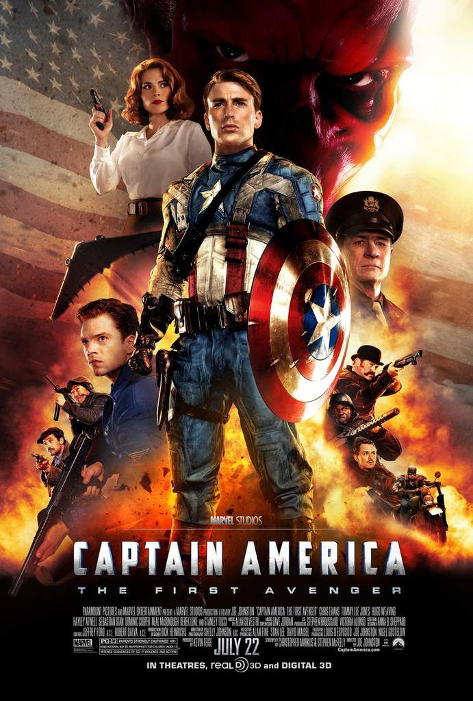 Captain America, the first Avengers