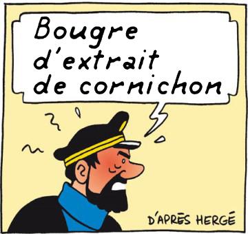 BANDE DE CORNICHONS...