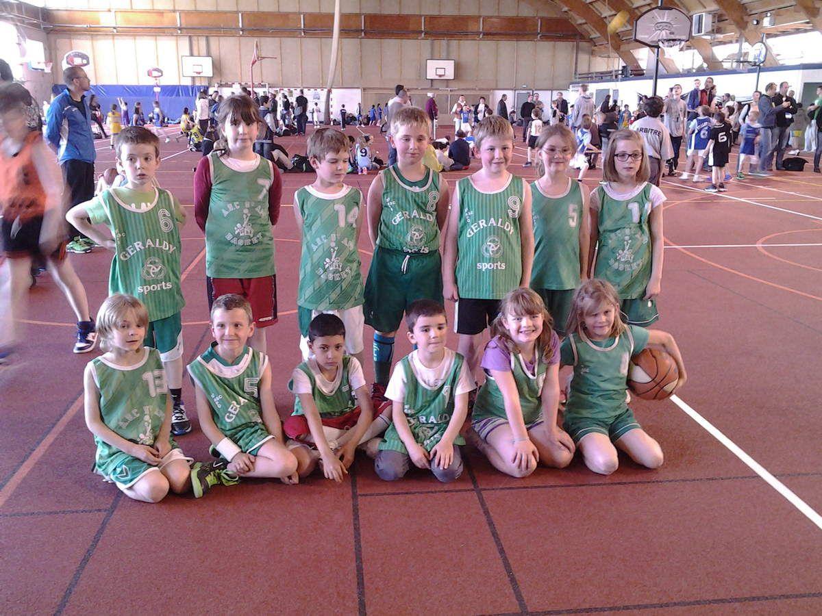 Mon équipe de basket :)