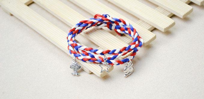 comment faire un bracelet enroul avec des breloques belle perle. Black Bedroom Furniture Sets. Home Design Ideas