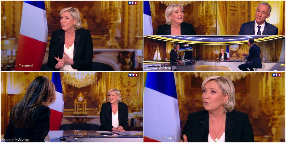 Marine Le Pen et les protestants... Toujours la même obsession maurassienne de l'extrême-droite. Décidement rien ne change en lepénie...