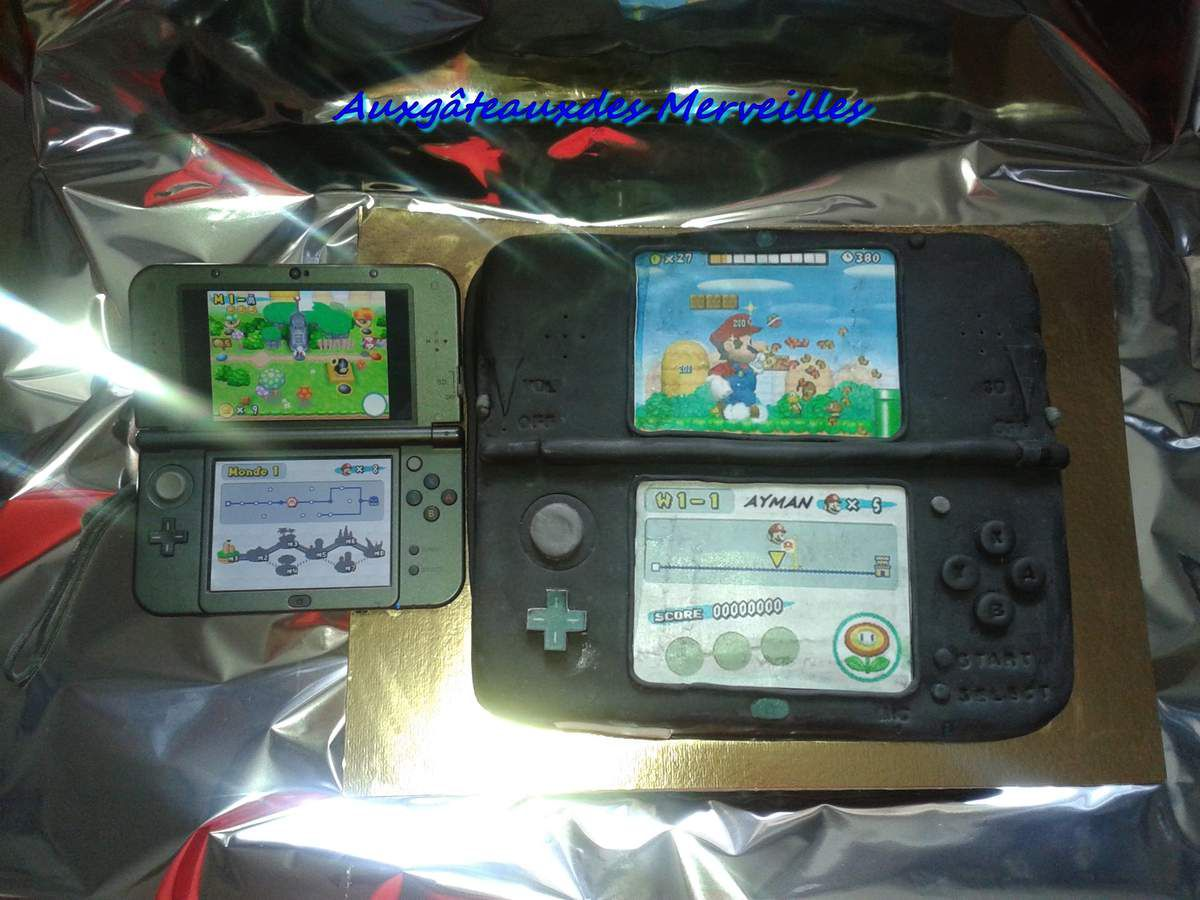 G teau new 3ds xl p tisseries et compagnies for Housse 3ds xl reine des neiges
