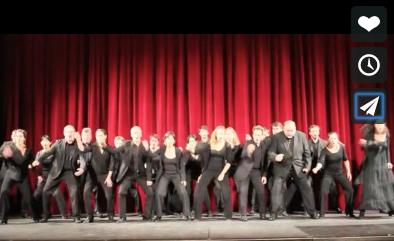 Insolite : quand l'orchestre de Franche-Comté fait son... haka