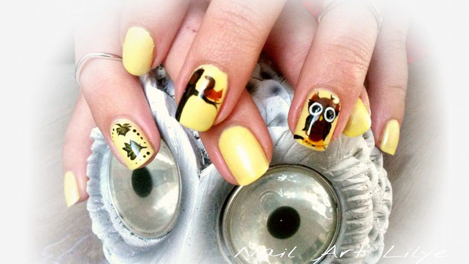 Nail art automnale n°2