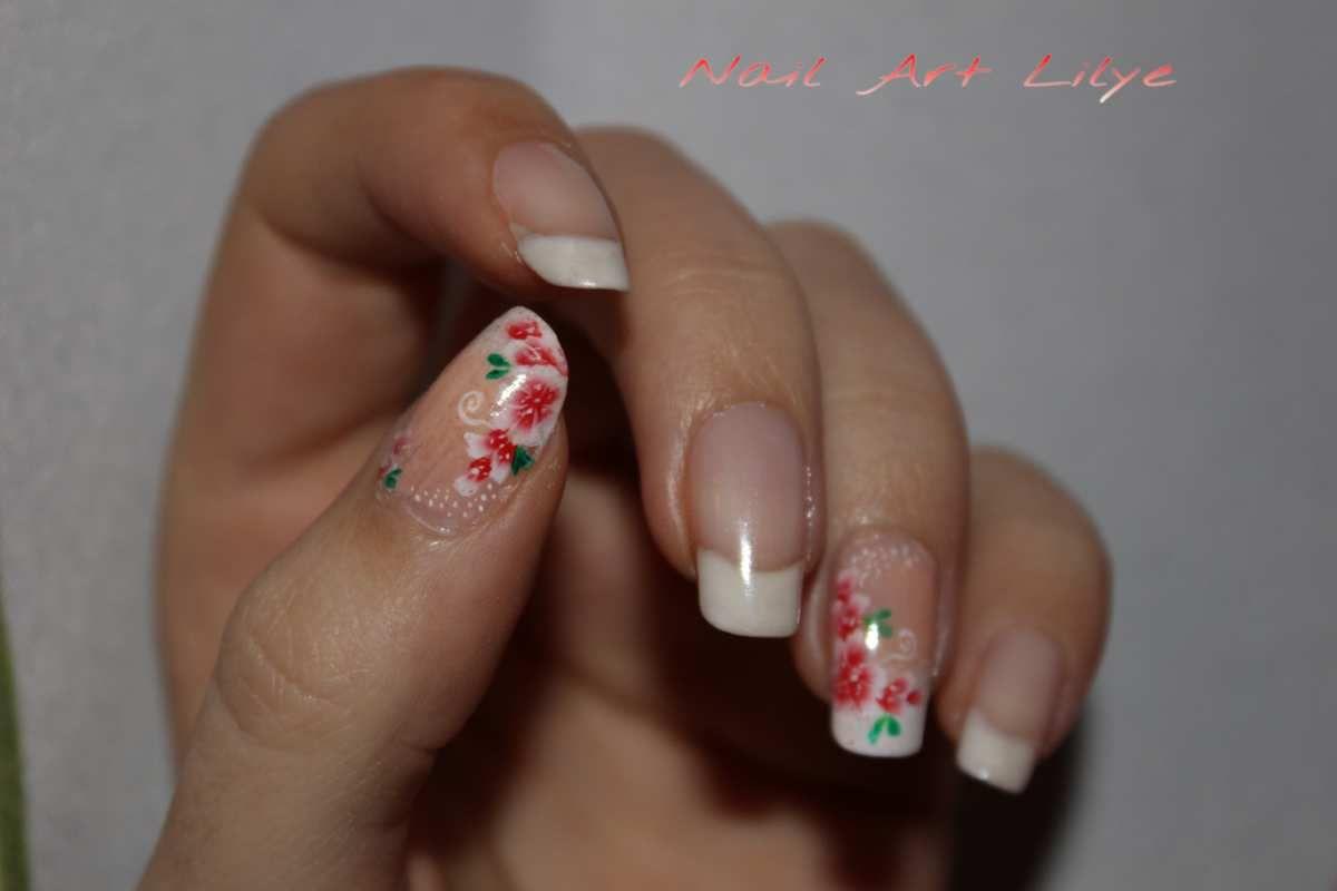 Nail art printanier