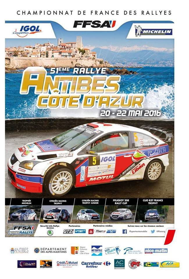 calendrier 2016 rallyes championnat de france rallye passion france. Black Bedroom Furniture Sets. Home Design Ideas