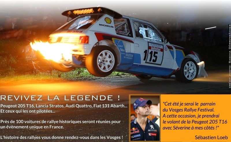 sebastien loeb au depart du vosges rallye festival rallye passion france. Black Bedroom Furniture Sets. Home Design Ideas