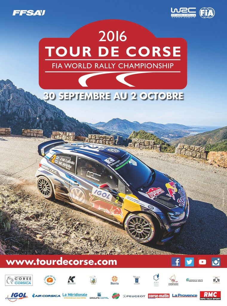 tour de corse wrc du 29 septembre au 02 octobre 2016 rallye passion france. Black Bedroom Furniture Sets. Home Design Ideas