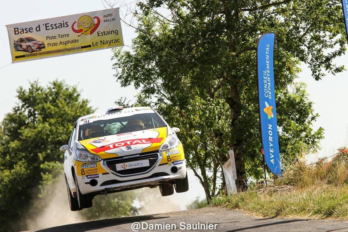 208 Rally Cup – Laurent PELLIER s'impose une nouvelle fois dans l'Aveyron ! – 44ème Rallye Aveyron Rouergue Occitanie