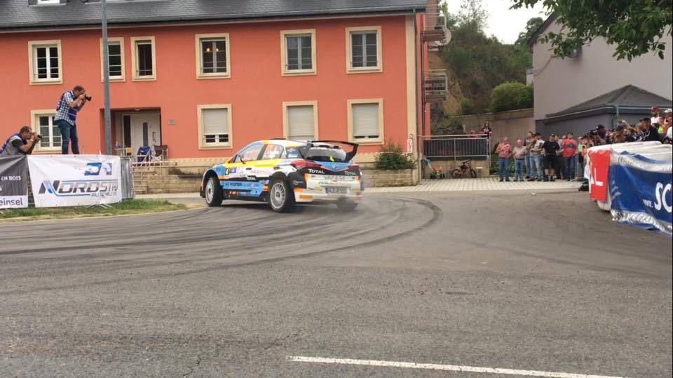 Marijan GRIEBEL devance López, les juniors de l'ERC brillent au rallye de Luxembourg