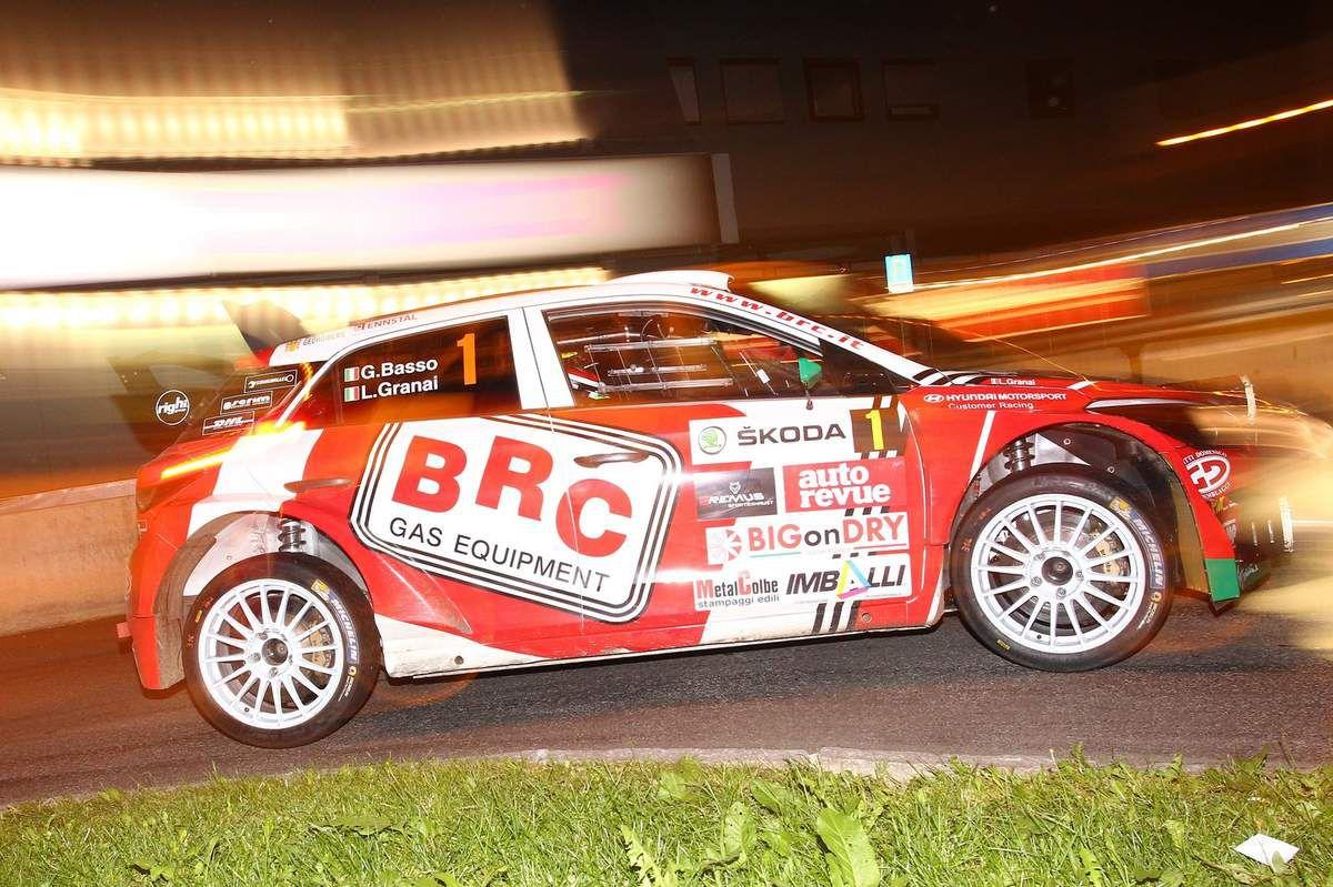 Giandomenico BASSO remporte le classement TER au Škoda Rallye Liezen