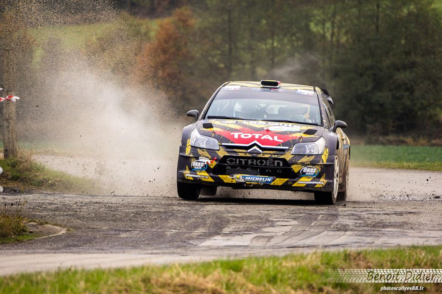 Bruno THIRY et François DUVAL de retour en Citroën au Rallye du CONDROZ ?
