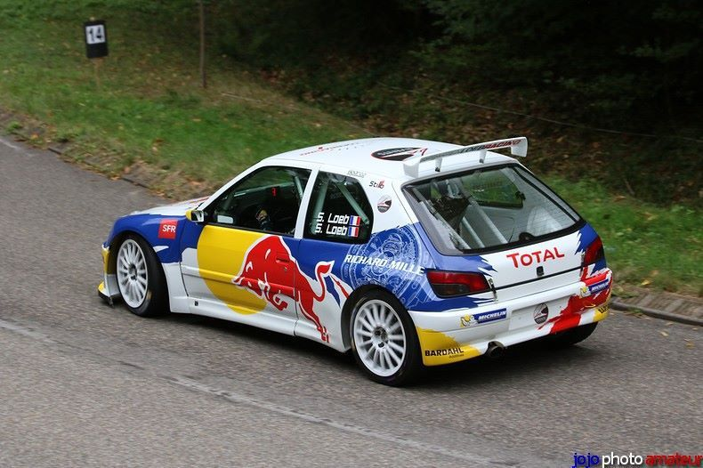 le sebastien loeb racing revoit completement sa peugeot 306 maxi rallye passion france. Black Bedroom Furniture Sets. Home Design Ideas