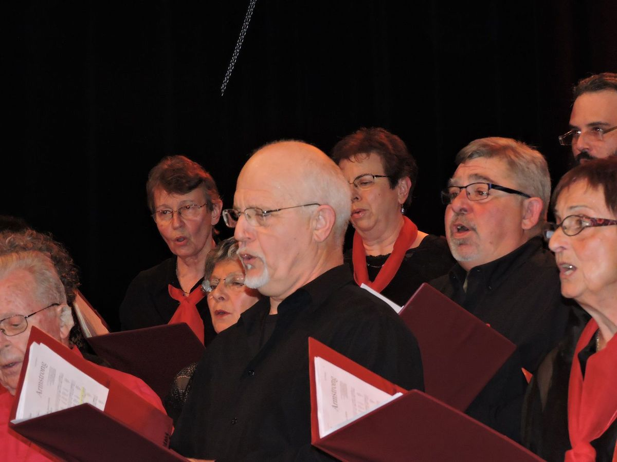 La Chorale Amista de  Sorgues mardi 5 avril 2016