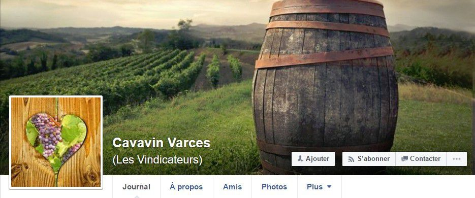 "Page Facebook ""les vindicateurs""..."