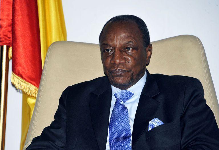 Alpha Condé, Président guinéen