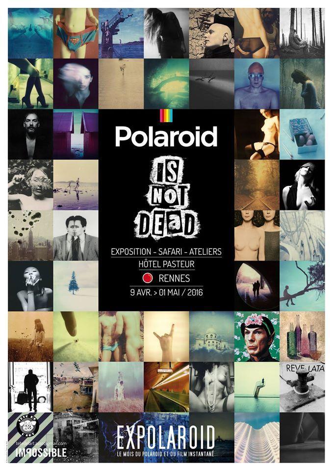 POLAROID IS NOT DEAD! Expolaroid // 9 avril au 1 mai
