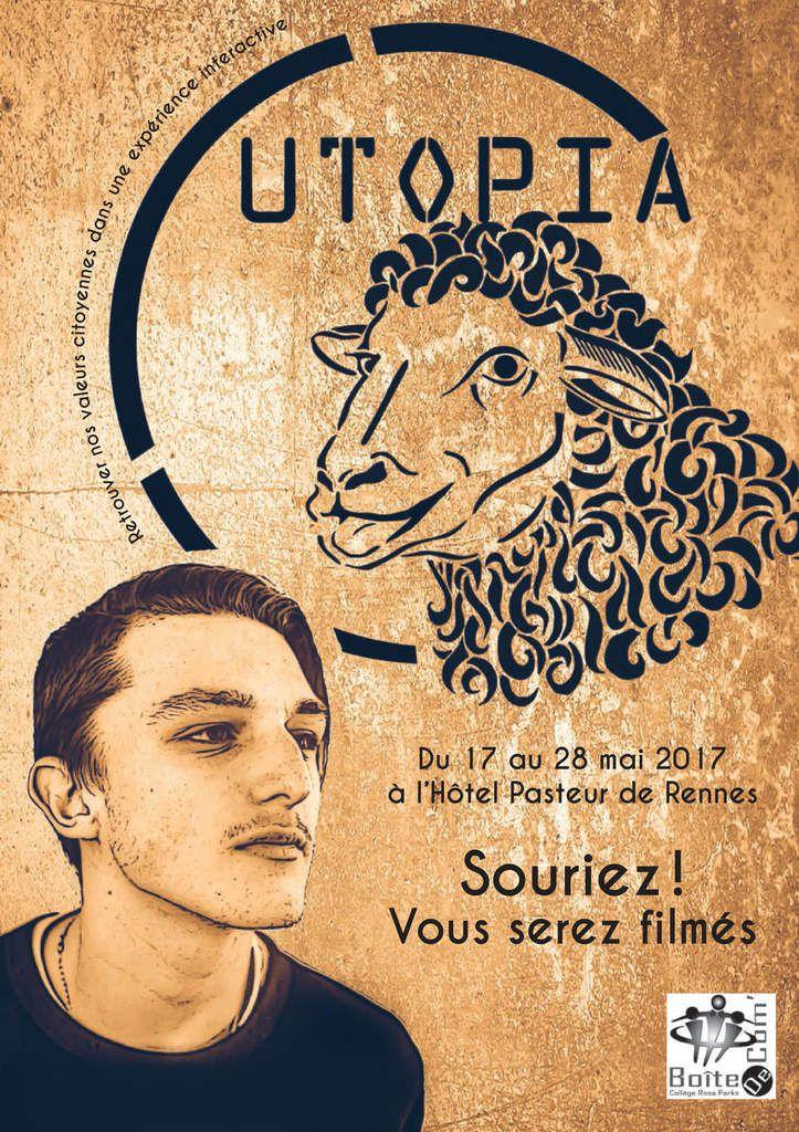Exposition Utopia - du 17 au 28 Mai