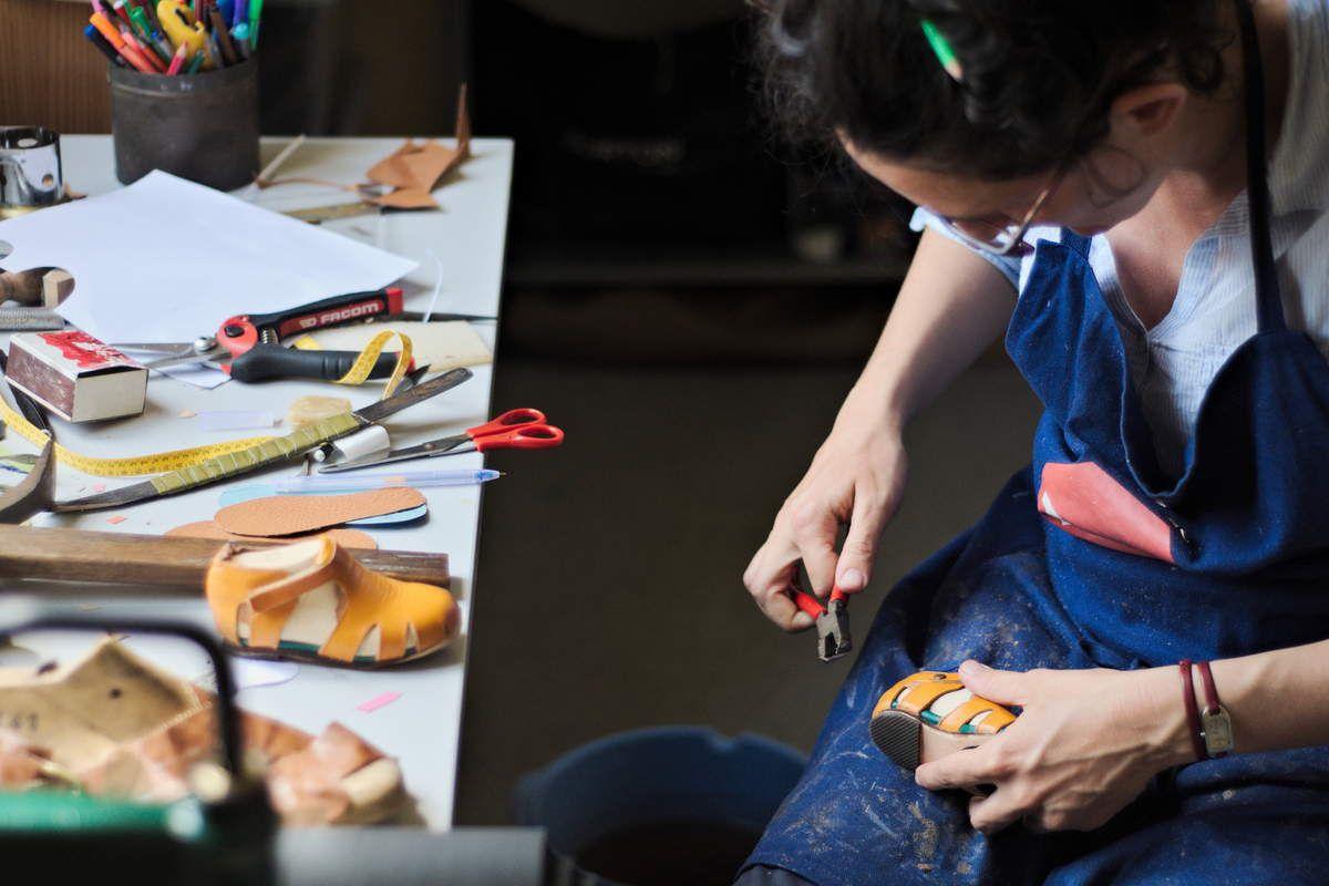 En cours // Saute Montagne - Ateliers d'inititation à la fabrication de chaussures - Juin &amp&#x3B; Juillet - Prochain Atelier Enfant 14 Juin &amp&#x3B; Prochain Atelier Adulte Lundi 19 Juin