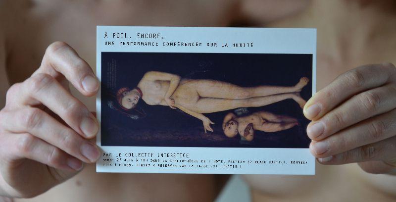 À poil, encore... Spectacle, réflexion sur la nudité - le 26 et 27 juin